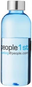 vattenflaskor sportflaskor med tryck